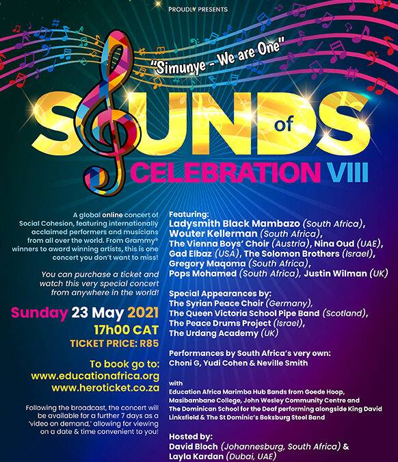 Guest Article: Sounds of Celebration VIII is back