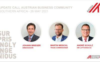 Guest Article: Update Call Austrian Business Community – Southern Africa