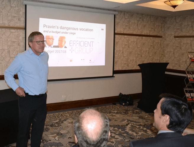 Dawie Rood 2017 Budget Presentation