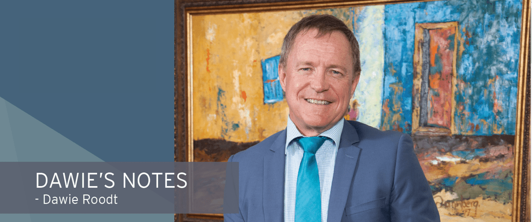 Dawie's Notes – The R500bn stimulus package: The good, the bad and the ugly